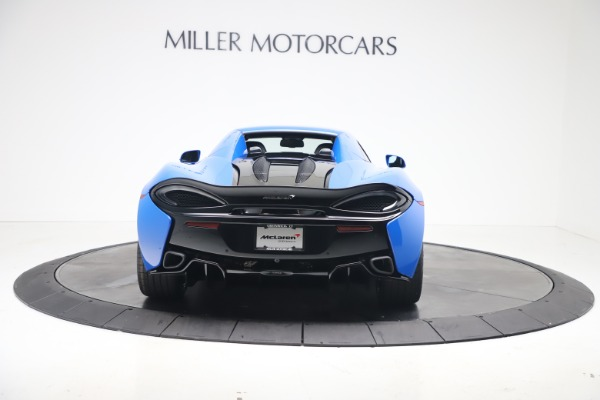 New 2020 McLaren 570S Spider Convertible for sale $236,270 at Pagani of Greenwich in Greenwich CT 06830 18