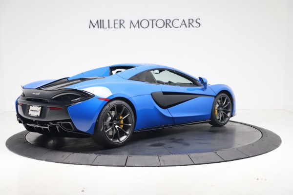 New 2020 McLaren 570S Spider Convertible for sale $236,270 at Pagani of Greenwich in Greenwich CT 06830 19