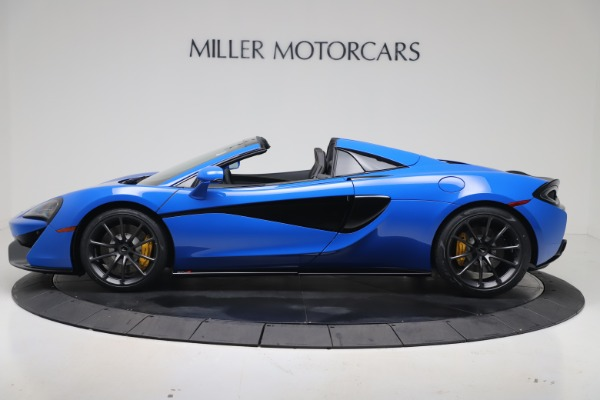 New 2020 McLaren 570S Spider Convertible for sale $236,270 at Pagani of Greenwich in Greenwich CT 06830 2