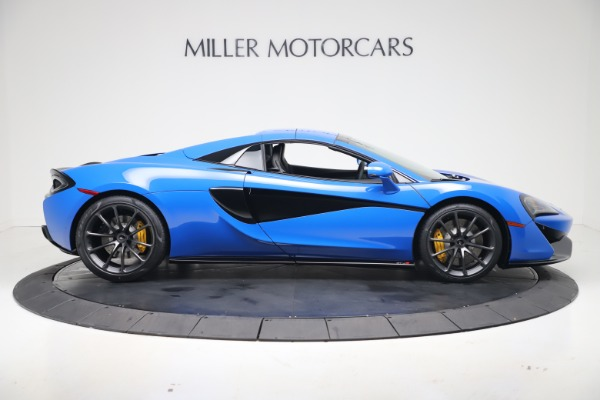 New 2020 McLaren 570S Spider Convertible for sale $236,270 at Pagani of Greenwich in Greenwich CT 06830 20