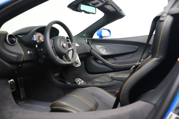 New 2020 McLaren 570S Spider Convertible for sale $236,270 at Pagani of Greenwich in Greenwich CT 06830 23