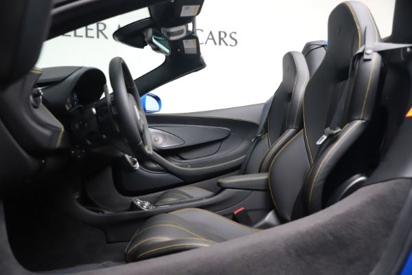 New 2020 McLaren 570S Spider Convertible for sale $236,270 at Pagani of Greenwich in Greenwich CT 06830 24