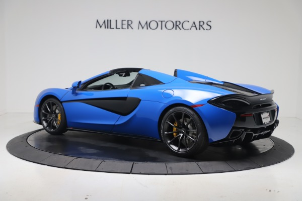New 2020 McLaren 570S Spider Convertible for sale $236,270 at Pagani of Greenwich in Greenwich CT 06830 3