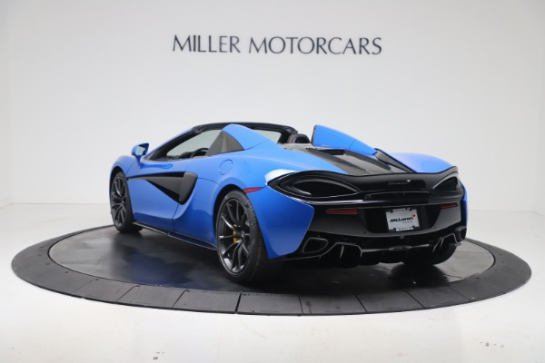 New 2020 McLaren 570S Spider Convertible for sale $236,270 at Pagani of Greenwich in Greenwich CT 06830 4