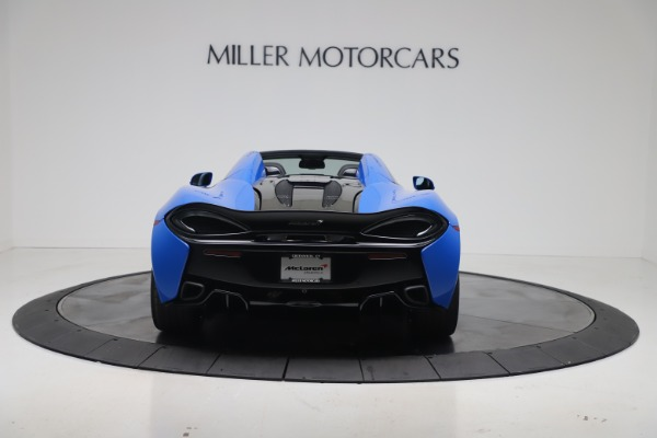 New 2020 McLaren 570S Spider Convertible for sale $236,270 at Pagani of Greenwich in Greenwich CT 06830 5