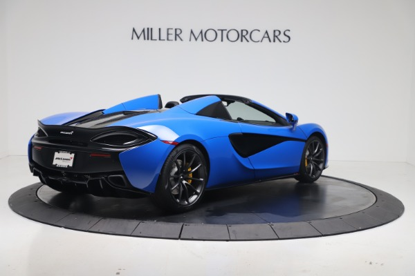 New 2020 McLaren 570S Spider Convertible for sale $236,270 at Pagani of Greenwich in Greenwich CT 06830 6