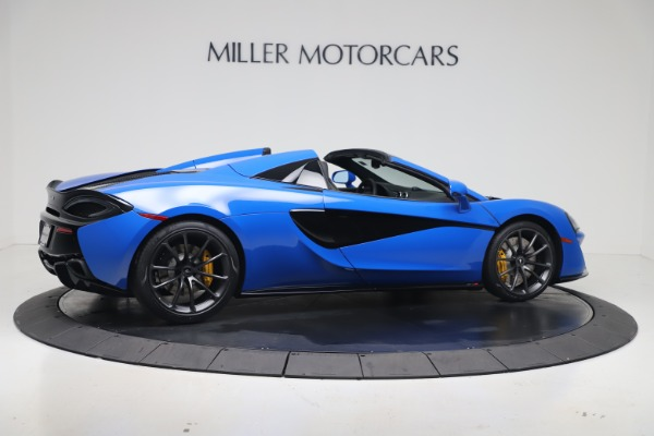 New 2020 McLaren 570S Spider Convertible for sale $236,270 at Pagani of Greenwich in Greenwich CT 06830 7