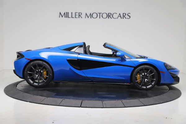 New 2020 McLaren 570S Spider Convertible for sale $236,270 at Pagani of Greenwich in Greenwich CT 06830 8