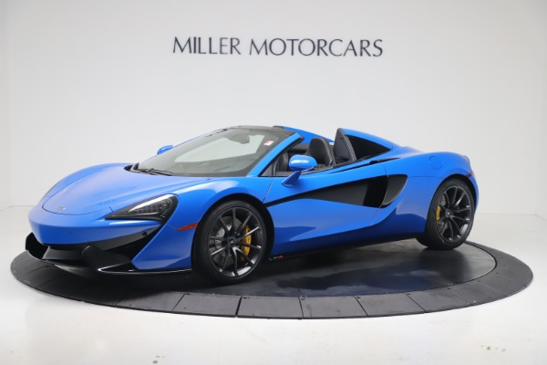 New 2020 McLaren 570S Spider Convertible for sale Sold at Pagani of Greenwich in Greenwich CT 06830 1