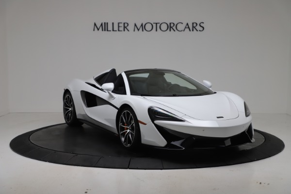New 2020 McLaren 570S Spider Convertible for sale $231,150 at Pagani of Greenwich in Greenwich CT 06830 10