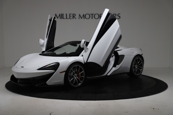 New 2020 McLaren 570S Spider Convertible for sale $231,150 at Pagani of Greenwich in Greenwich CT 06830 13