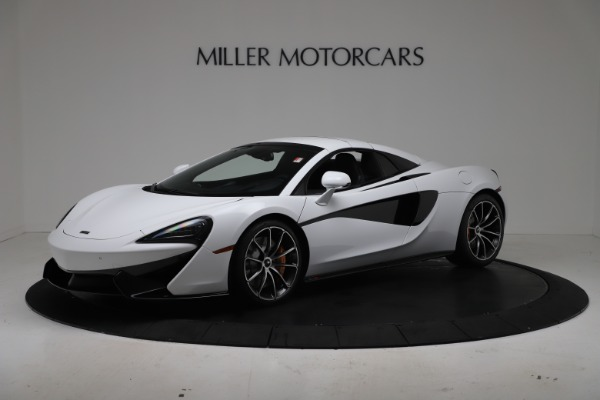 New 2020 McLaren 570S Spider Convertible for sale $231,150 at Pagani of Greenwich in Greenwich CT 06830 14
