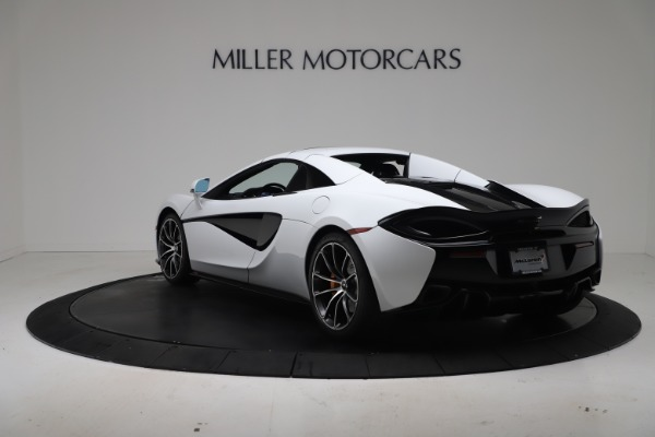 New 2020 McLaren 570S Spider Convertible for sale $231,150 at Pagani of Greenwich in Greenwich CT 06830 16
