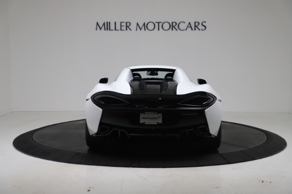 New 2020 McLaren 570S Spider Convertible for sale $231,150 at Pagani of Greenwich in Greenwich CT 06830 17