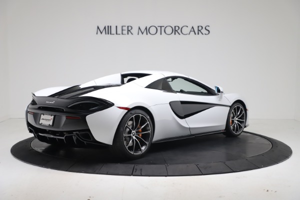 New 2020 McLaren 570S Spider Convertible for sale $231,150 at Pagani of Greenwich in Greenwich CT 06830 18