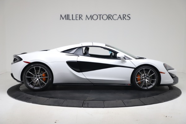 New 2020 McLaren 570S Spider Convertible for sale $231,150 at Pagani of Greenwich in Greenwich CT 06830 19