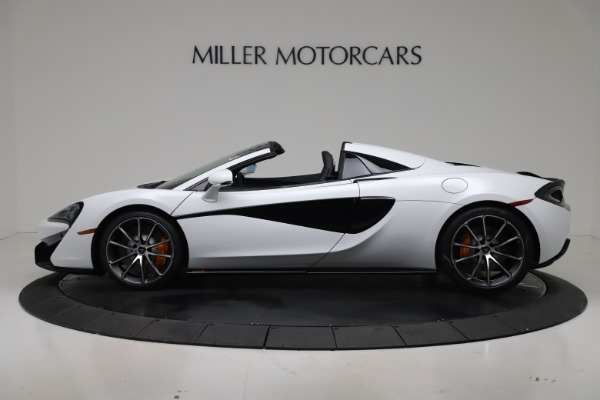 New 2020 McLaren 570S Spider Convertible for sale $231,150 at Pagani of Greenwich in Greenwich CT 06830 2