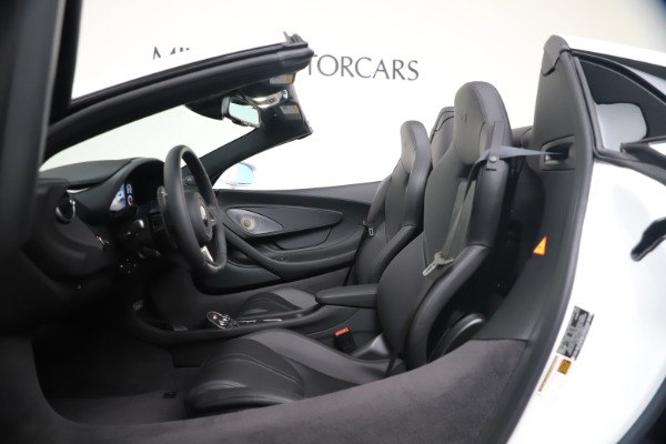 New 2020 McLaren 570S Spider Convertible for sale $231,150 at Pagani of Greenwich in Greenwich CT 06830 23