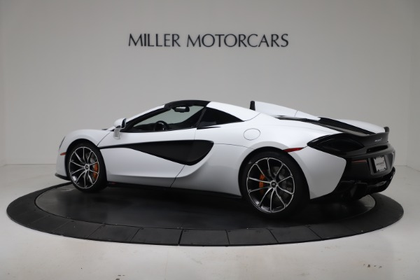 New 2020 McLaren 570S Spider Convertible for sale $231,150 at Pagani of Greenwich in Greenwich CT 06830 3