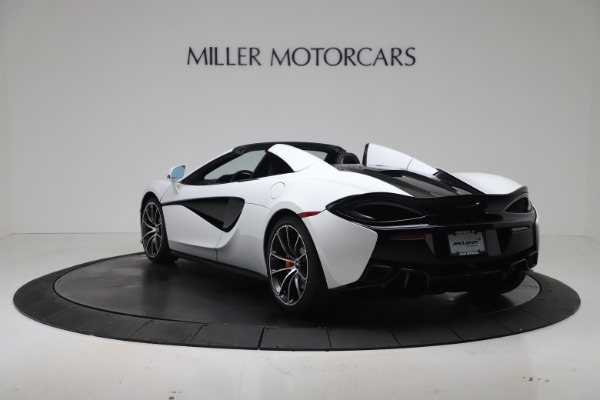New 2020 McLaren 570S Spider Convertible for sale $231,150 at Pagani of Greenwich in Greenwich CT 06830 4