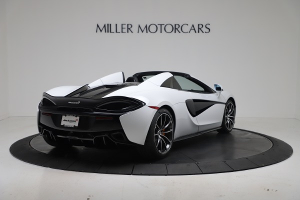 New 2020 McLaren 570S Spider Convertible for sale $231,150 at Pagani of Greenwich in Greenwich CT 06830 6