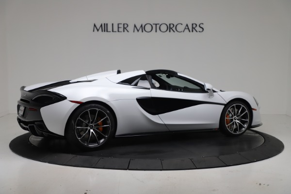 New 2020 McLaren 570S Spider Convertible for sale $231,150 at Pagani of Greenwich in Greenwich CT 06830 7