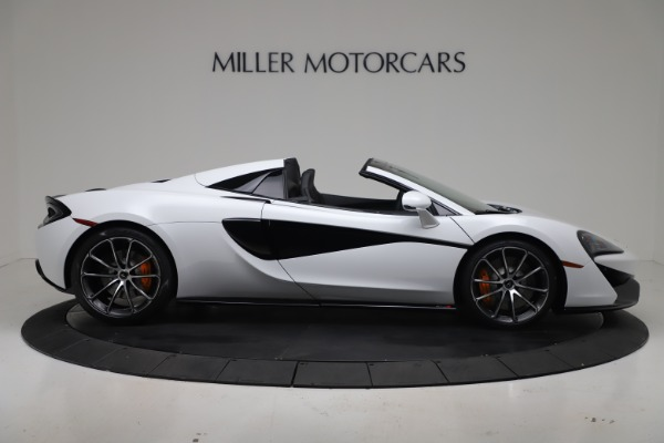 New 2020 McLaren 570S Spider Convertible for sale $231,150 at Pagani of Greenwich in Greenwich CT 06830 8