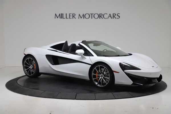 New 2020 McLaren 570S Spider Convertible for sale $231,150 at Pagani of Greenwich in Greenwich CT 06830 9