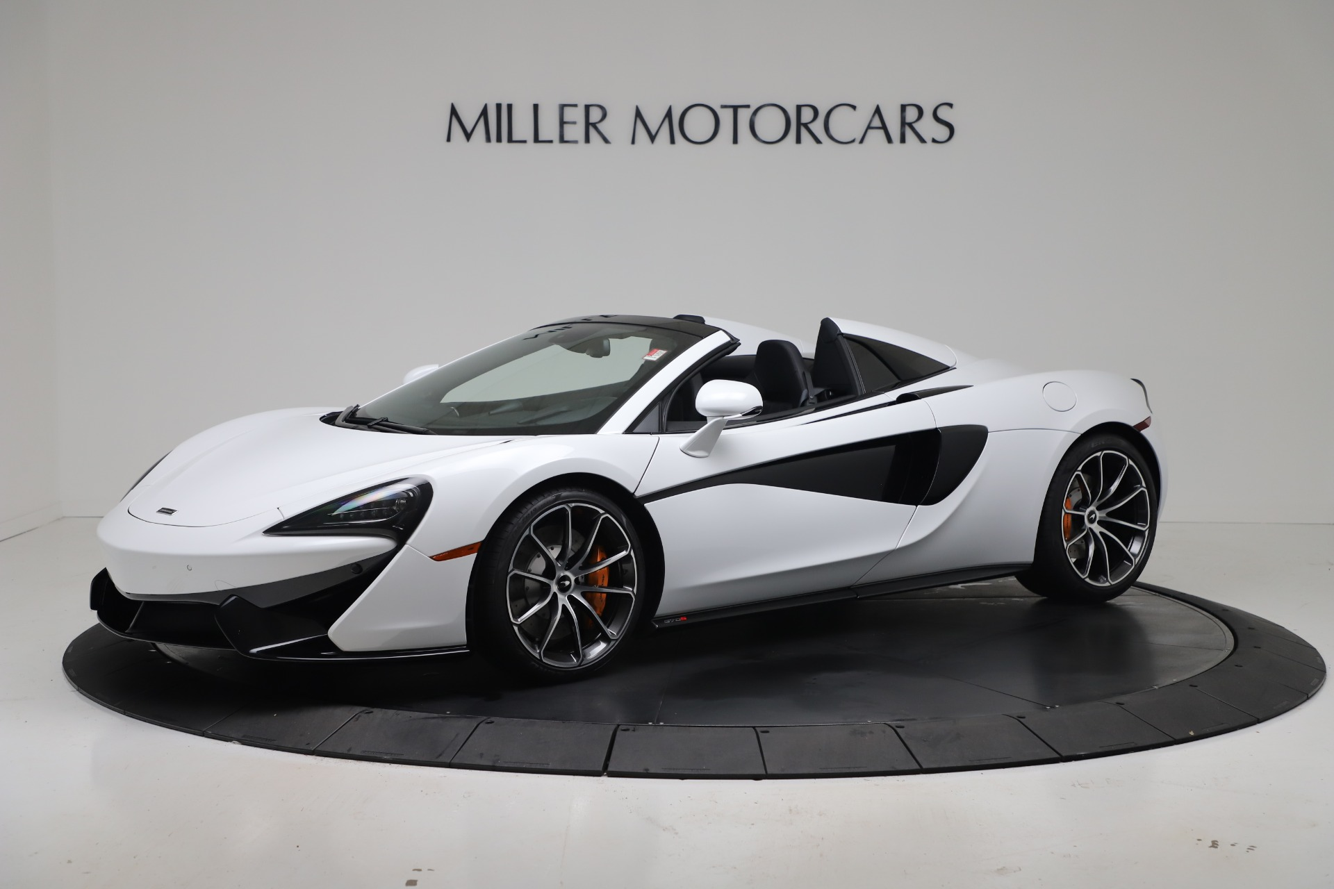 New 2020 McLaren 570S Spider Convertible for sale $231,150 at Pagani of Greenwich in Greenwich CT 06830 1