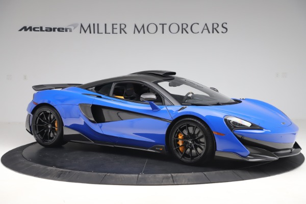 Used 2019 McLaren 600LT for sale $255,900 at Pagani of Greenwich in Greenwich CT 06830 10