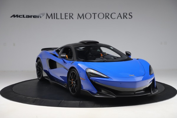 Used 2019 McLaren 600LT for sale $255,900 at Pagani of Greenwich in Greenwich CT 06830 11