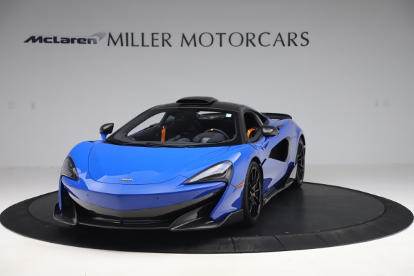 Used 2019 McLaren 600LT for sale $255,900 at Pagani of Greenwich in Greenwich CT 06830 2