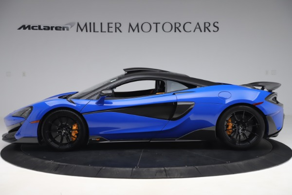 Used 2019 McLaren 600LT for sale $255,900 at Pagani of Greenwich in Greenwich CT 06830 3