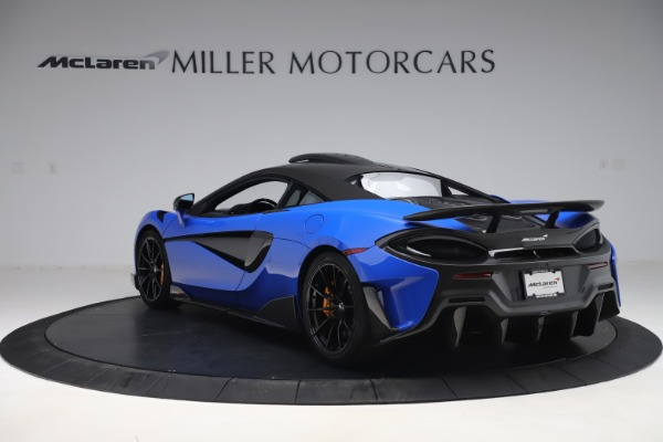 Used 2019 McLaren 600LT for sale $255,900 at Pagani of Greenwich in Greenwich CT 06830 5