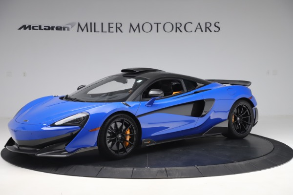 Used 2019 McLaren 600LT for sale $255,900 at Pagani of Greenwich in Greenwich CT 06830 1