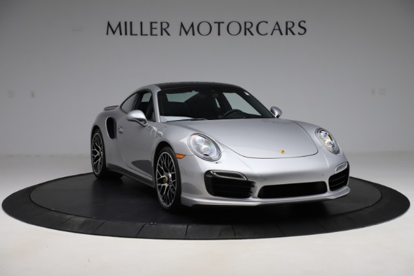 Used 2015 Porsche 911 Turbo S for sale $121,900 at Pagani of Greenwich in Greenwich CT 06830 11