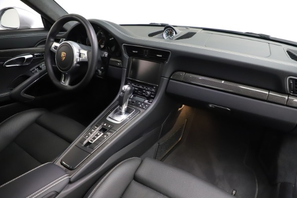 Used 2015 Porsche 911 Turbo S for sale $121,900 at Pagani of Greenwich in Greenwich CT 06830 16