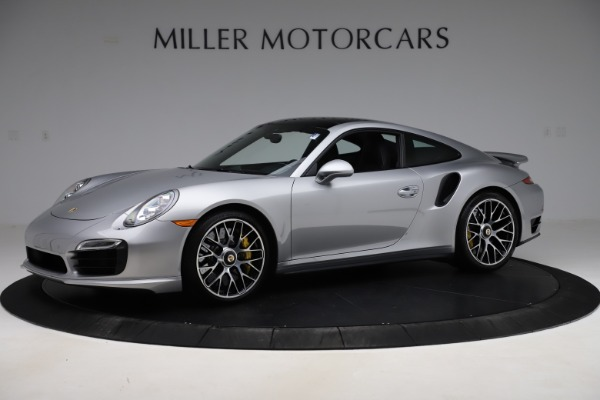 Used 2015 Porsche 911 Turbo S for sale $121,900 at Pagani of Greenwich in Greenwich CT 06830 2