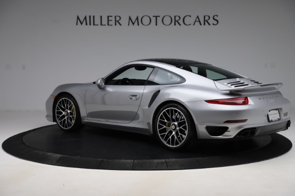Used 2015 Porsche 911 Turbo S for sale $121,900 at Pagani of Greenwich in Greenwich CT 06830 4