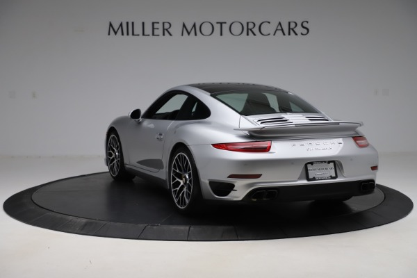 Used 2015 Porsche 911 Turbo S for sale $121,900 at Pagani of Greenwich in Greenwich CT 06830 5
