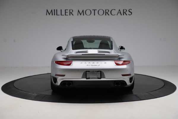 Used 2015 Porsche 911 Turbo S for sale $121,900 at Pagani of Greenwich in Greenwich CT 06830 6