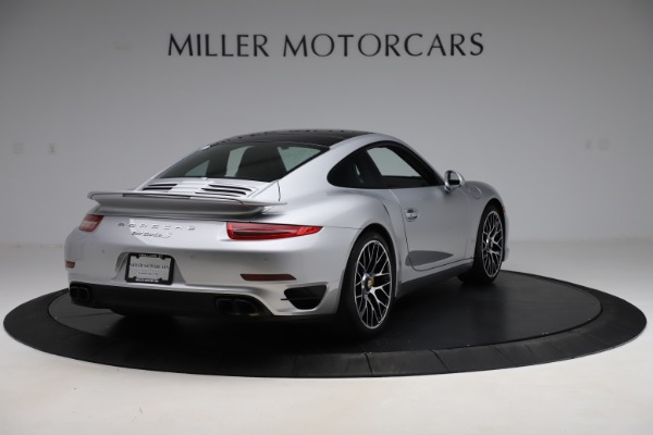 Used 2015 Porsche 911 Turbo S for sale $121,900 at Pagani of Greenwich in Greenwich CT 06830 7