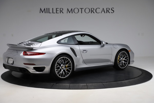 Used 2015 Porsche 911 Turbo S for sale $121,900 at Pagani of Greenwich in Greenwich CT 06830 8
