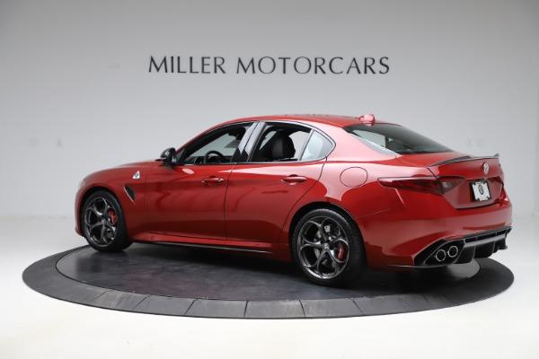 New 2020 Alfa Romeo Giulia Quadrifoglio for sale Sold at Pagani of Greenwich in Greenwich CT 06830 4