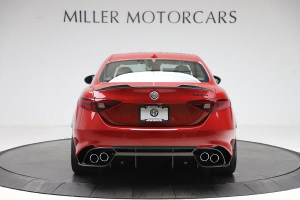 New 2020 Alfa Romeo Giulia Quadrifoglio for sale Sold at Pagani of Greenwich in Greenwich CT 06830 6