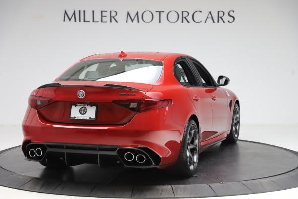 New 2020 Alfa Romeo Giulia Quadrifoglio for sale Sold at Pagani of Greenwich in Greenwich CT 06830 7