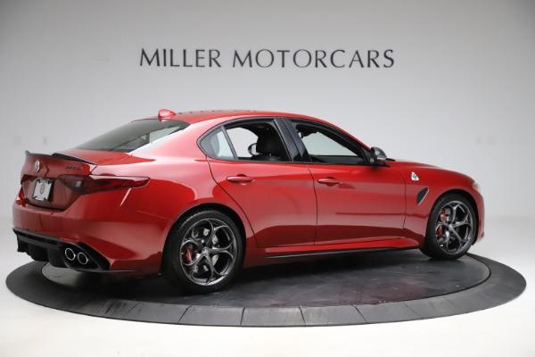 New 2020 Alfa Romeo Giulia Quadrifoglio for sale Sold at Pagani of Greenwich in Greenwich CT 06830 8