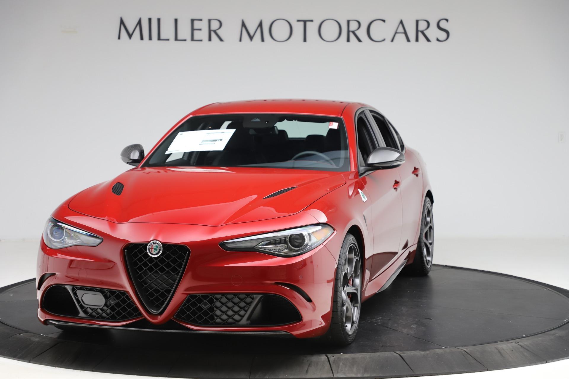 New 2020 Alfa Romeo Giulia Quadrifoglio for sale Sold at Pagani of Greenwich in Greenwich CT 06830 1