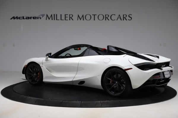 New 2020 McLaren 720S Spider Performance for sale Call for price at Pagani of Greenwich in Greenwich CT 06830 3
