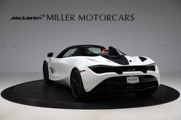 New 2020 McLaren 720S Spider Performance for sale $386,289 at Pagani of Greenwich in Greenwich CT 06830 4